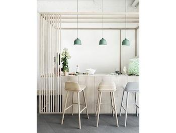 Nerd Barkruk Muuto : Black nerd bar stool by david geckeler for muuto furniture