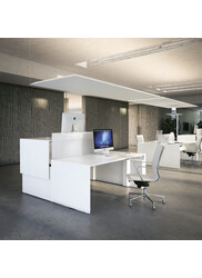 Quaranta 5 - Electrical height-adjustable double desk