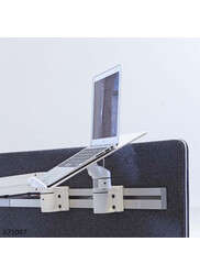 Toolbar Laptop shelf for monitor arm