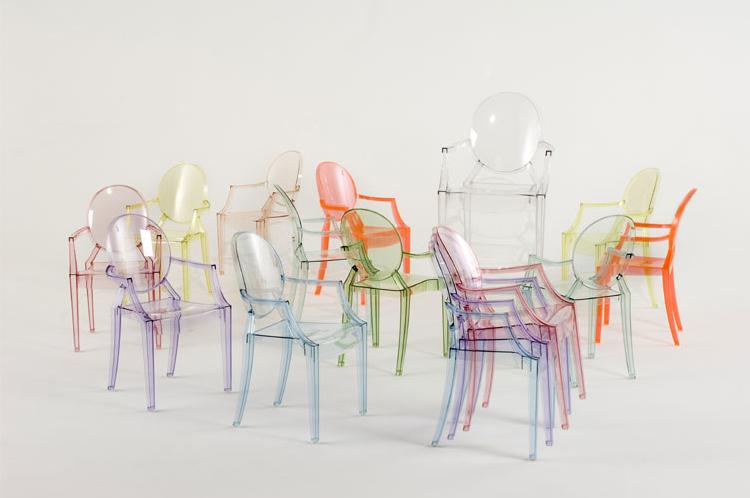 Kartell stoelen louis ghost buro international - Ruimte stijl louis philippe ...