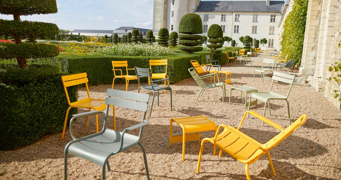 Fermob luxembourg loungestoel buro international for Fermob jardin du luxembourg