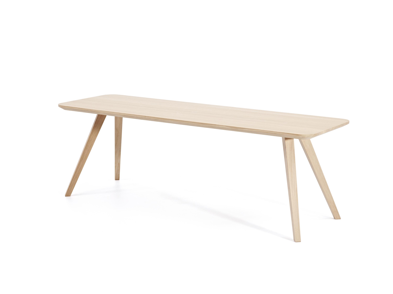 Buzzy rechthoekige tafel buro international for Buro international